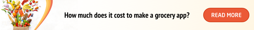 cost to make a grocery app