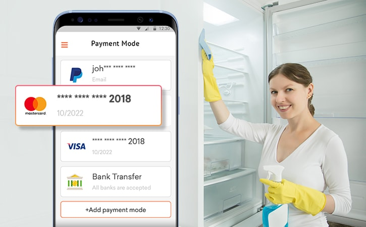 on demand home services payment details