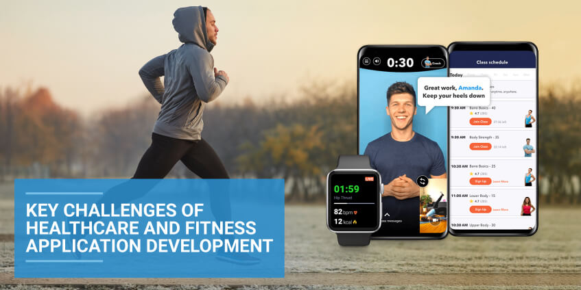 Key Challenges of Healthcare and Fitness Application Development